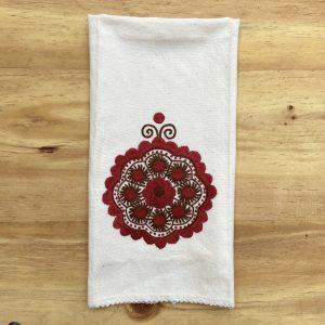 Zuleta´s embroidery Towel Quito Galeria Ecuador